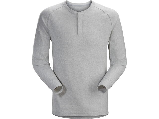 Arc'teryx Sirrus LS Henley Herren delos grey heather
